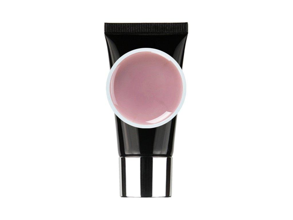 poly gel natural light pink tuba pink