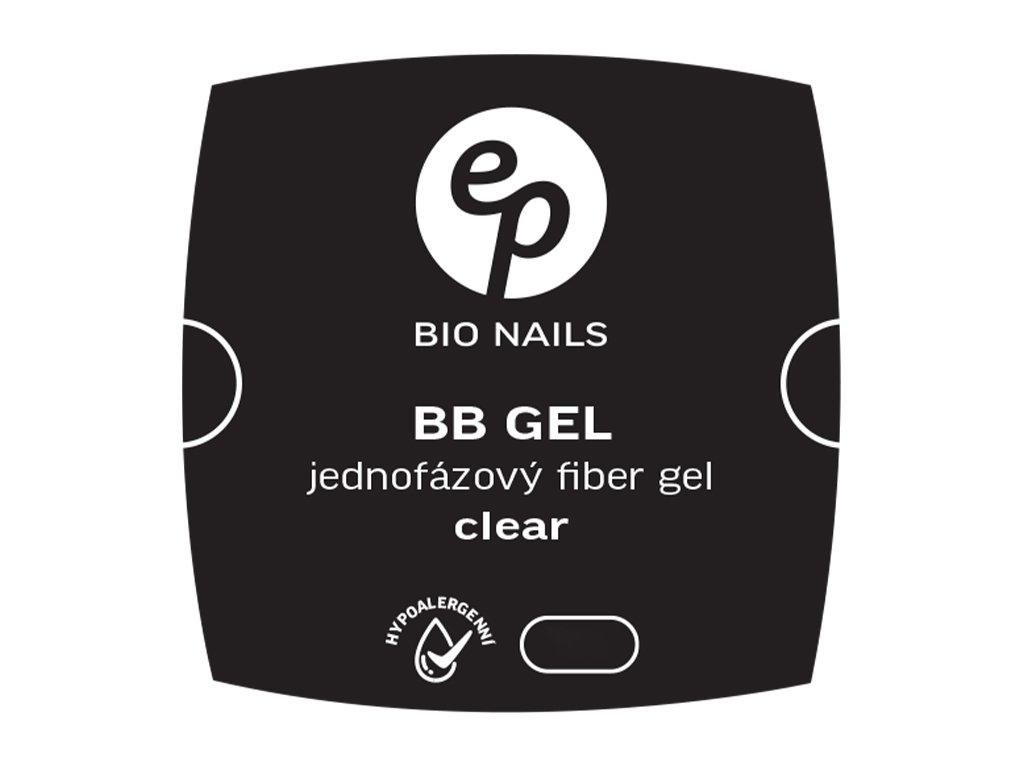 FIBER jednofázový clear gel hypoalergenní