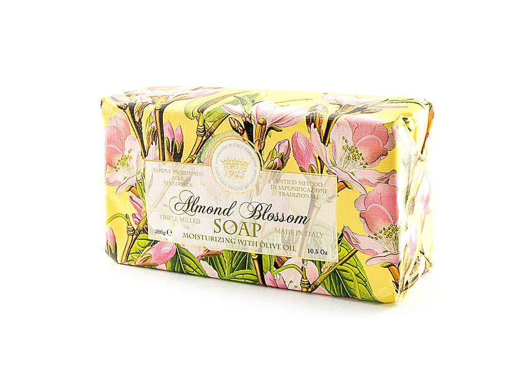 Mandlový květ 100 % přírodní balené mýdlo 300 g
