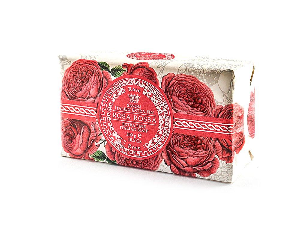 Růže červená 100% přírodní mýdlo 300 g