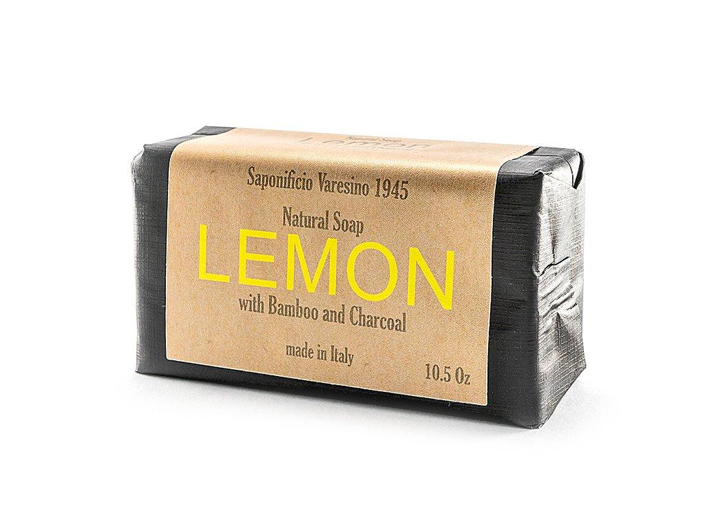 Citron s bambusem 100% přírodní peelingové mýdlo 300g