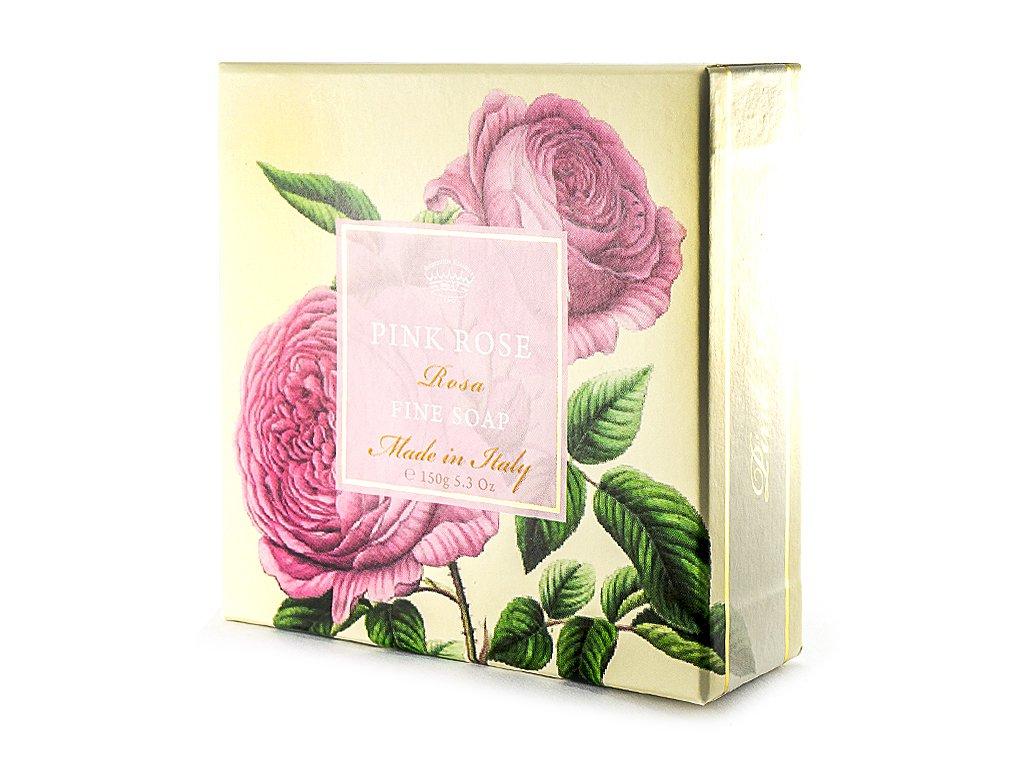 Růže růžová přírodní mýdlo 150g