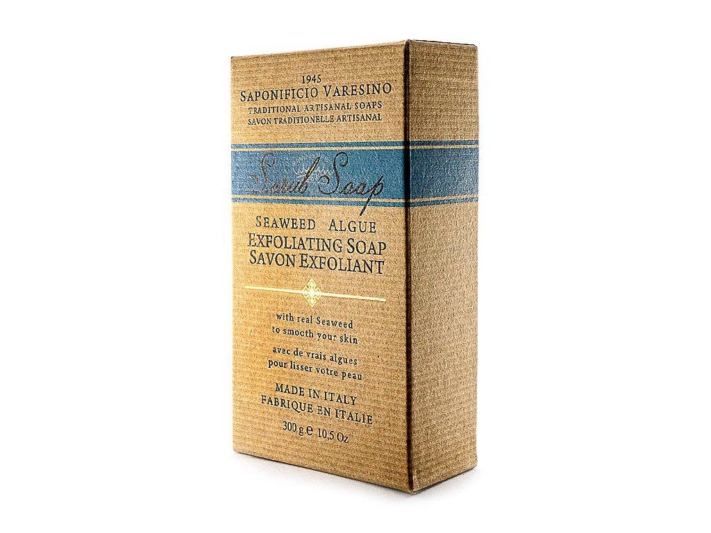 Peelingové přírodní mýdlo s mořskou řasou 300g