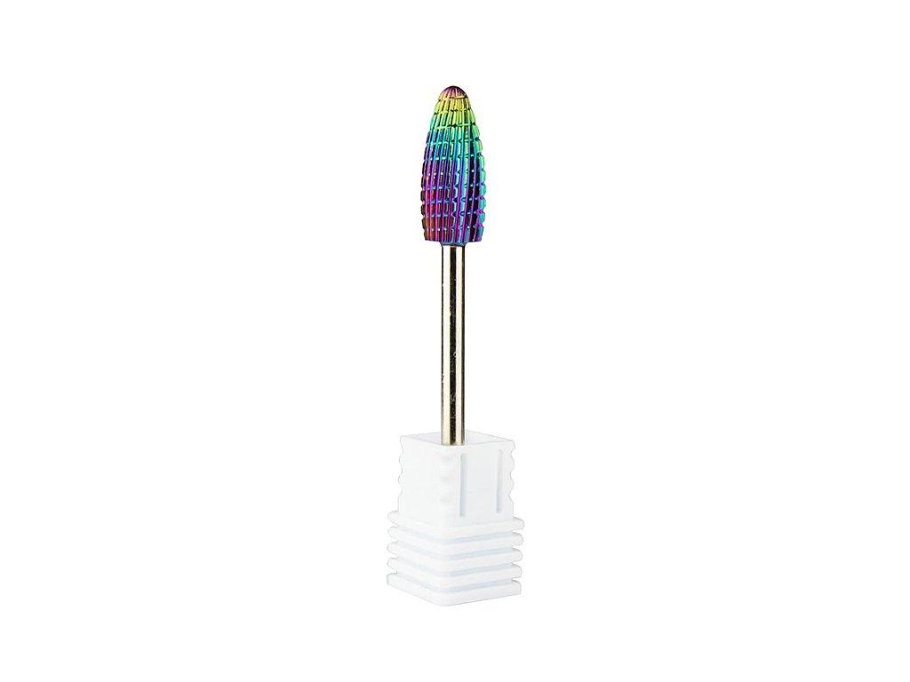Fréza BIO-nails wolframová duhová profesionální M 3/32 č.2