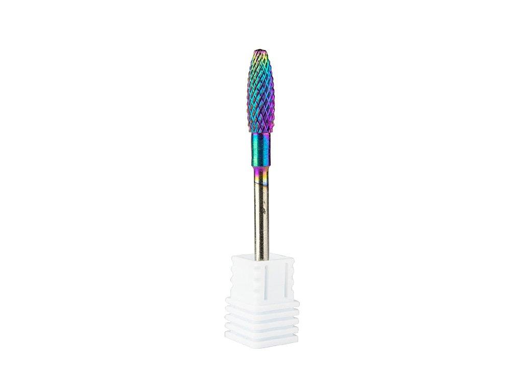 Fréza BIO-nails wolframová duhová profesionální M 3/32 č.7