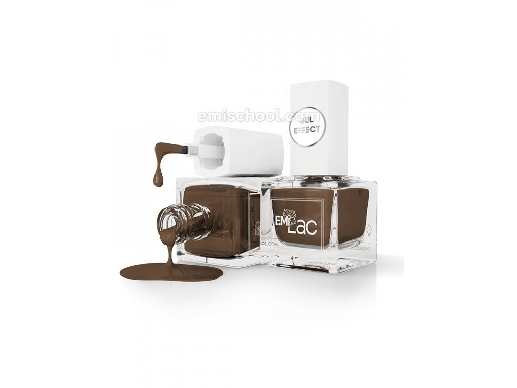 E.MiLac Gel Effect Coffee Liqueur #013, 9 ml.
