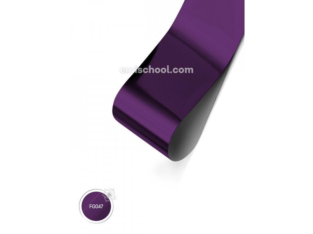 Lesklá fólie Deep Purple 1,5 m.