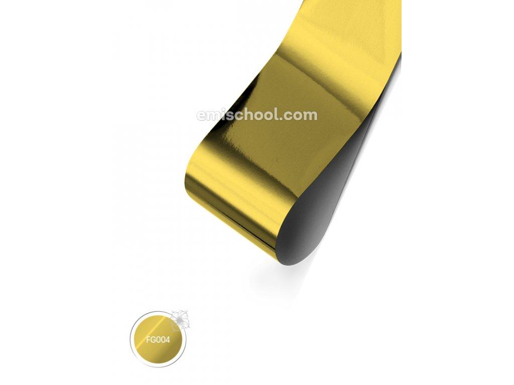 Lesklá fólie Noble Gold 1,5 m