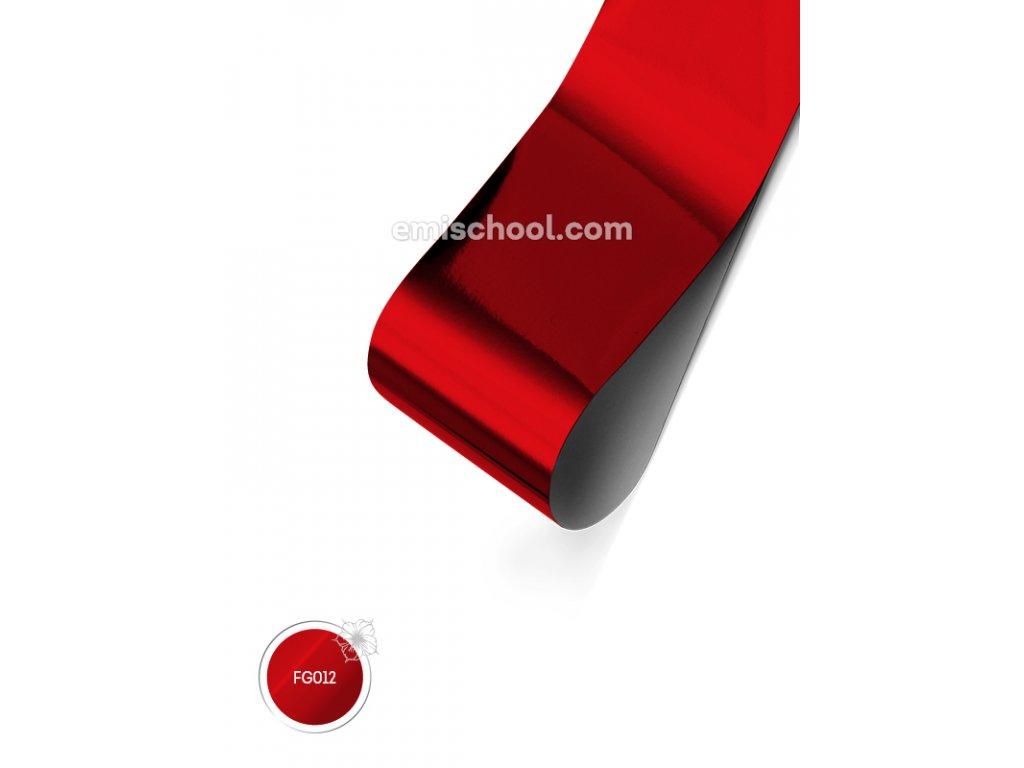 Lesklá fólie Red 1,5 m.