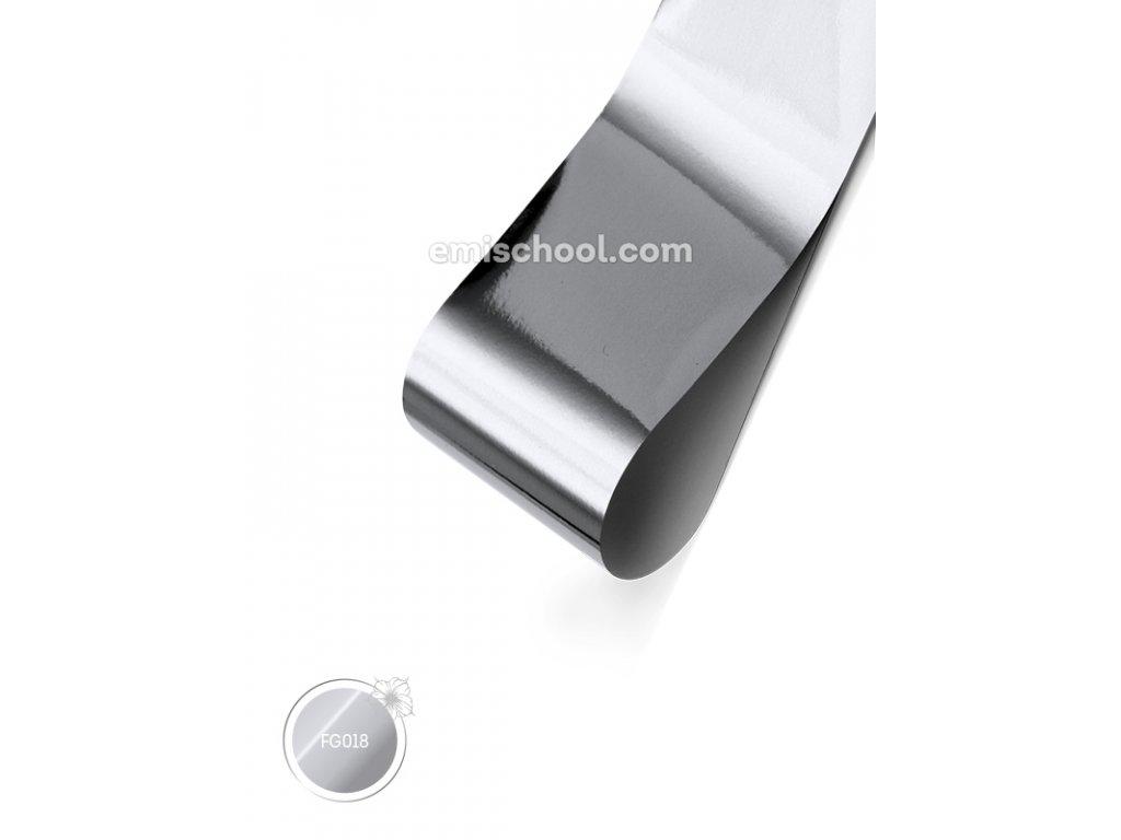 Lesklá fólie Silver 1,5 m.