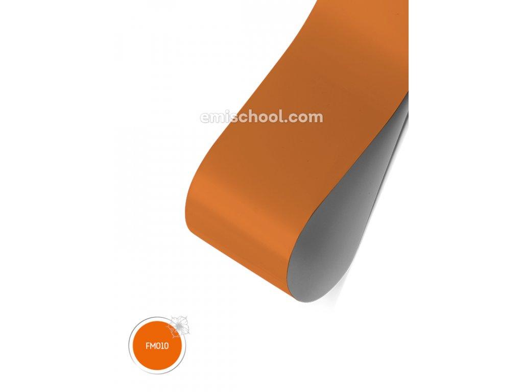Matná fólie Orange 1,5 m.