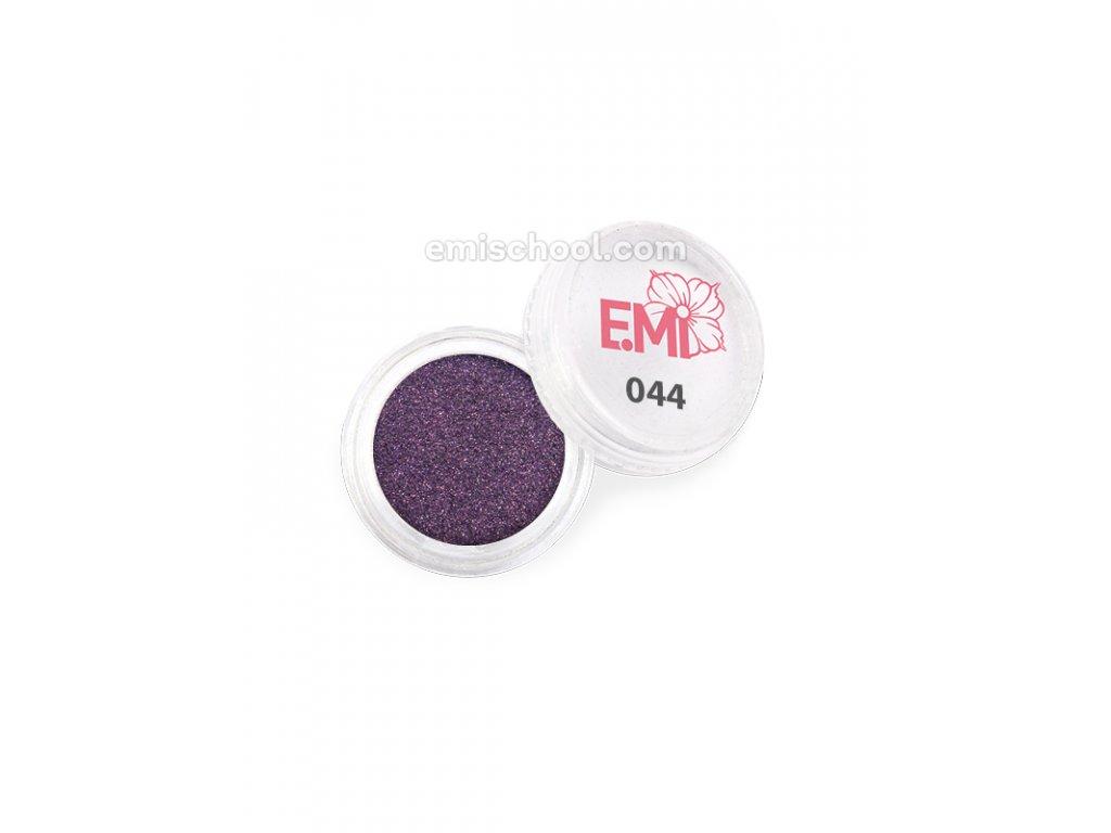 Prach jednobarevný - metalíza No044