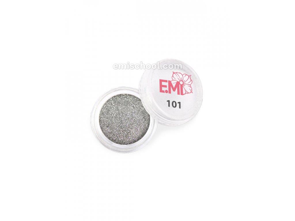 Prach jednobarevný - metalíza №101