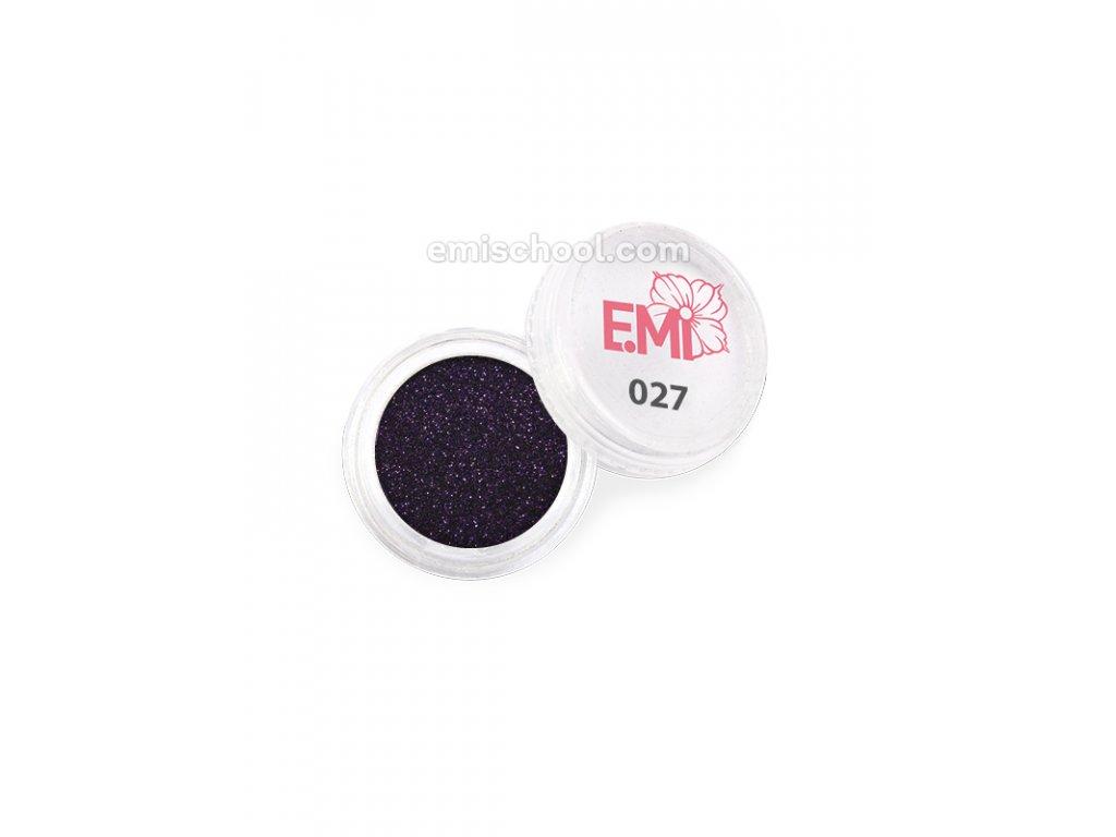 Prach jednobarevný - metalíza №027