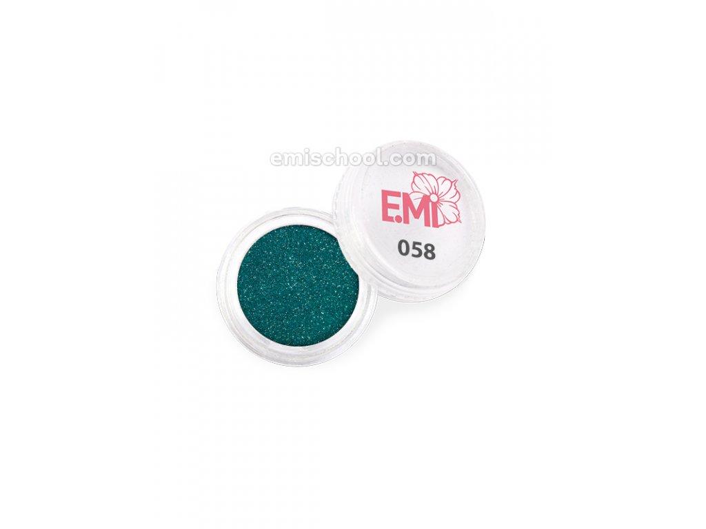 Prach jednobarevný - metalíza №058