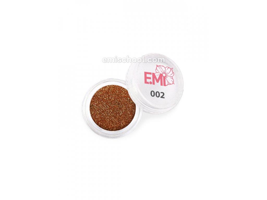 Prach jednobarevný - metalíza №002