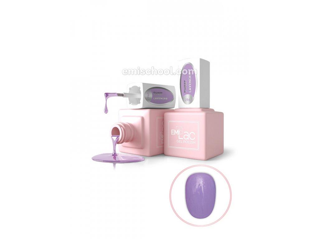 E.MiLac PR Sweet Lavender No196, 9 ml.