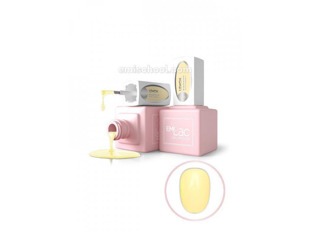 E.MiLac PR Lemon Sorbet №200, 9 ml.