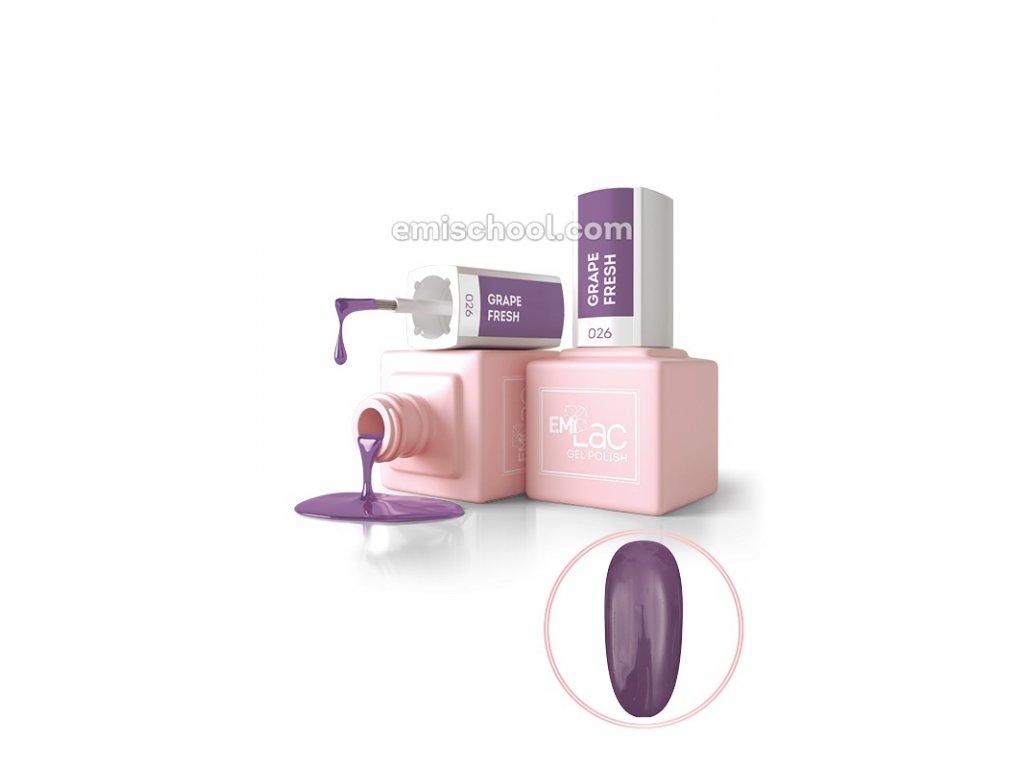 E.MiLac Grape Fresh 9 ml. (LB026)