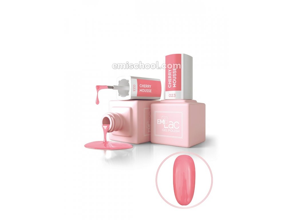 E.MiLac Cherry Mousse 9 ml. (LB023)