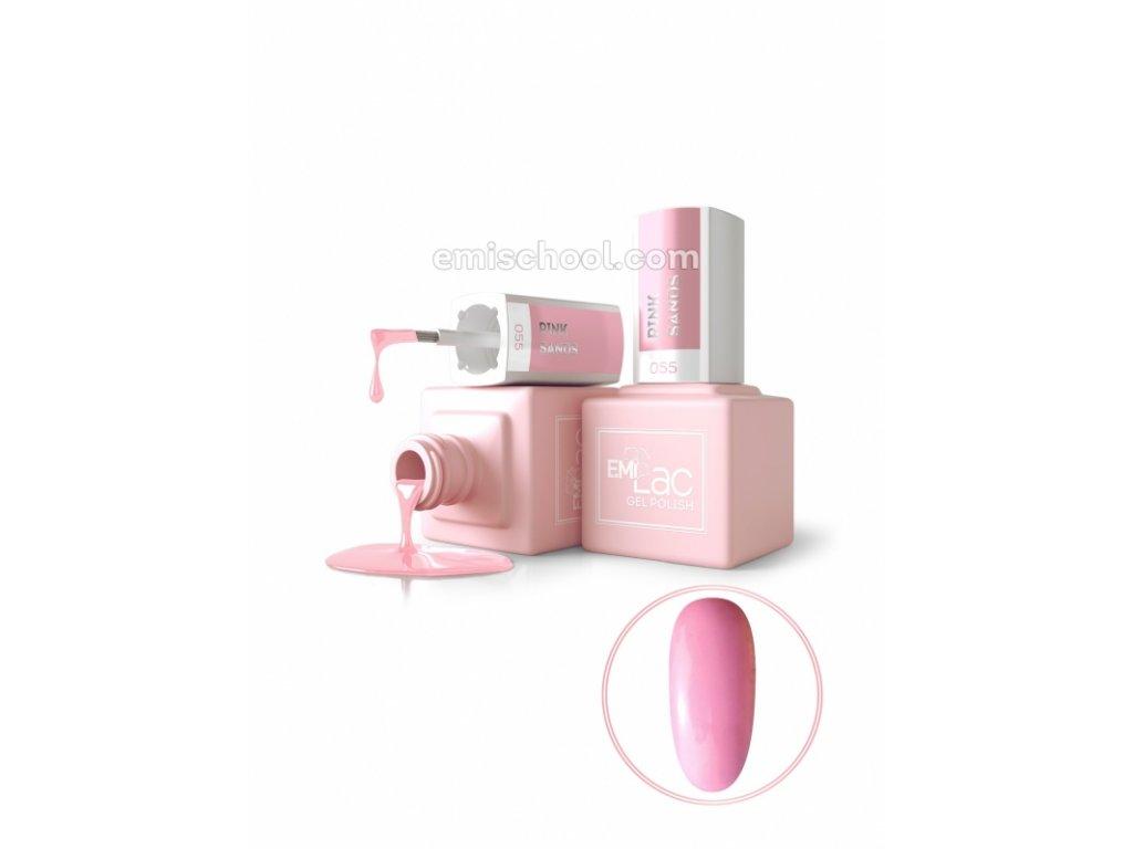 E.MiLac PA Pink Sands No055, 9 ml.