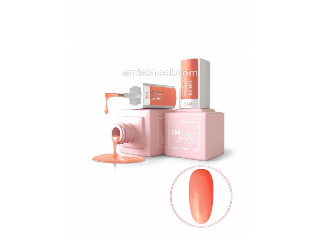 E.MiLac PA Peach Echo №060, 9 ml.