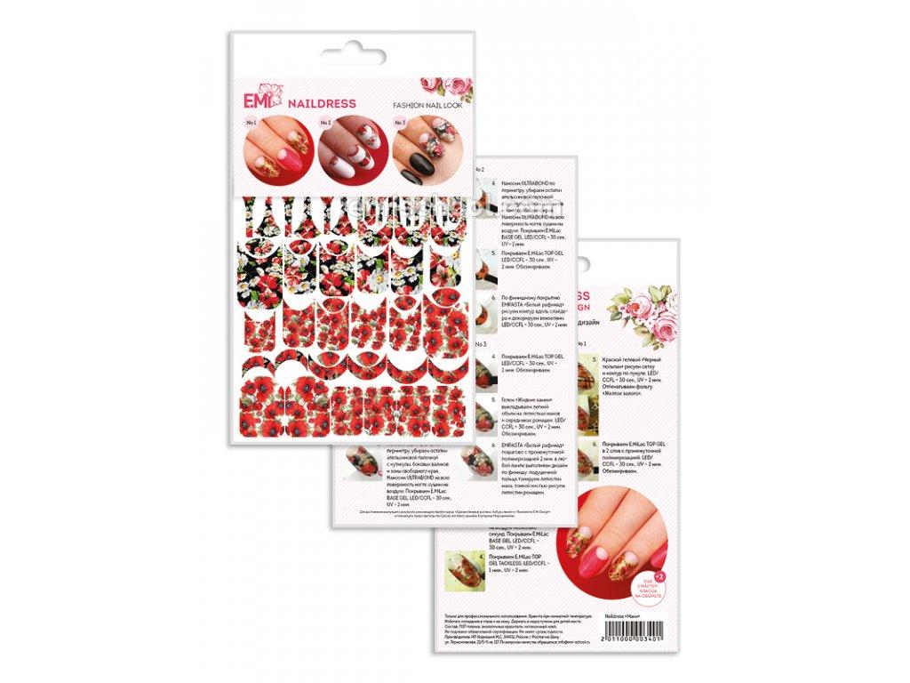 Naildress Slider Design Poppies
