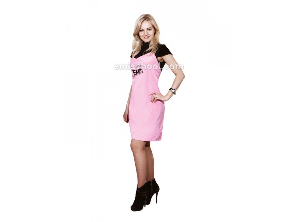 Zástěra růžová E.Mi
