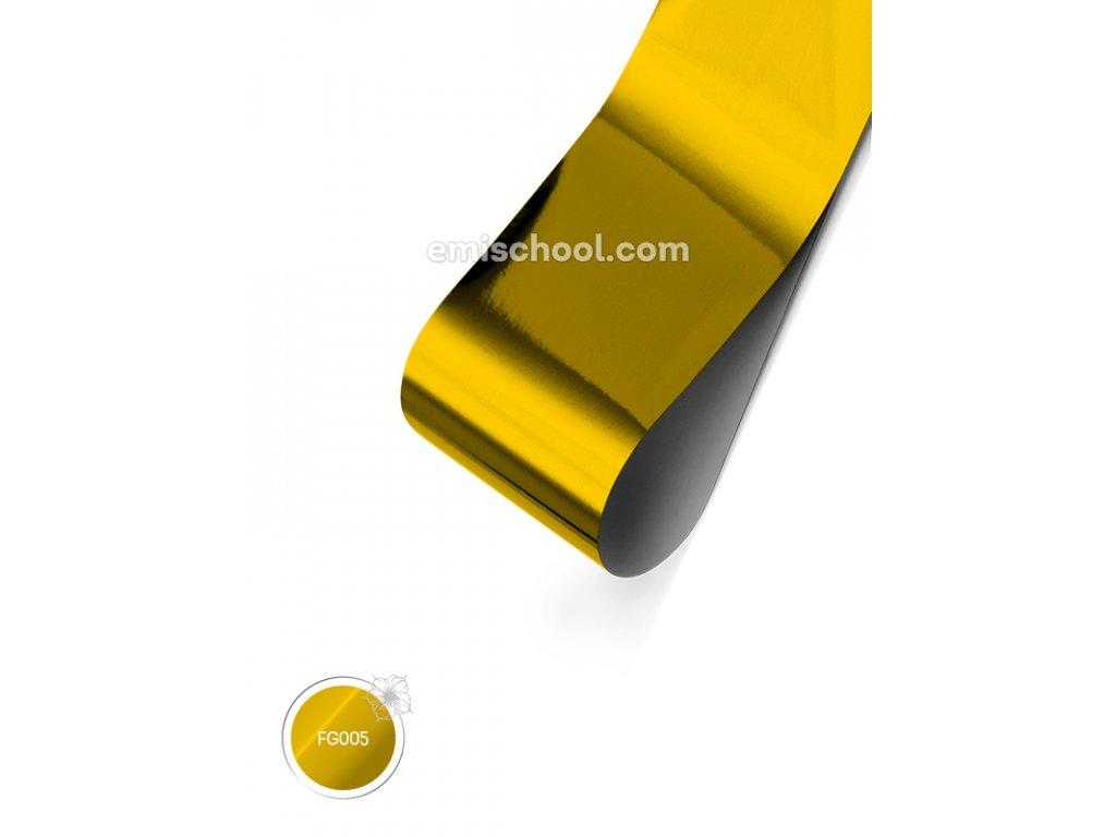 Lesklá fólie Gold 1,5 m.