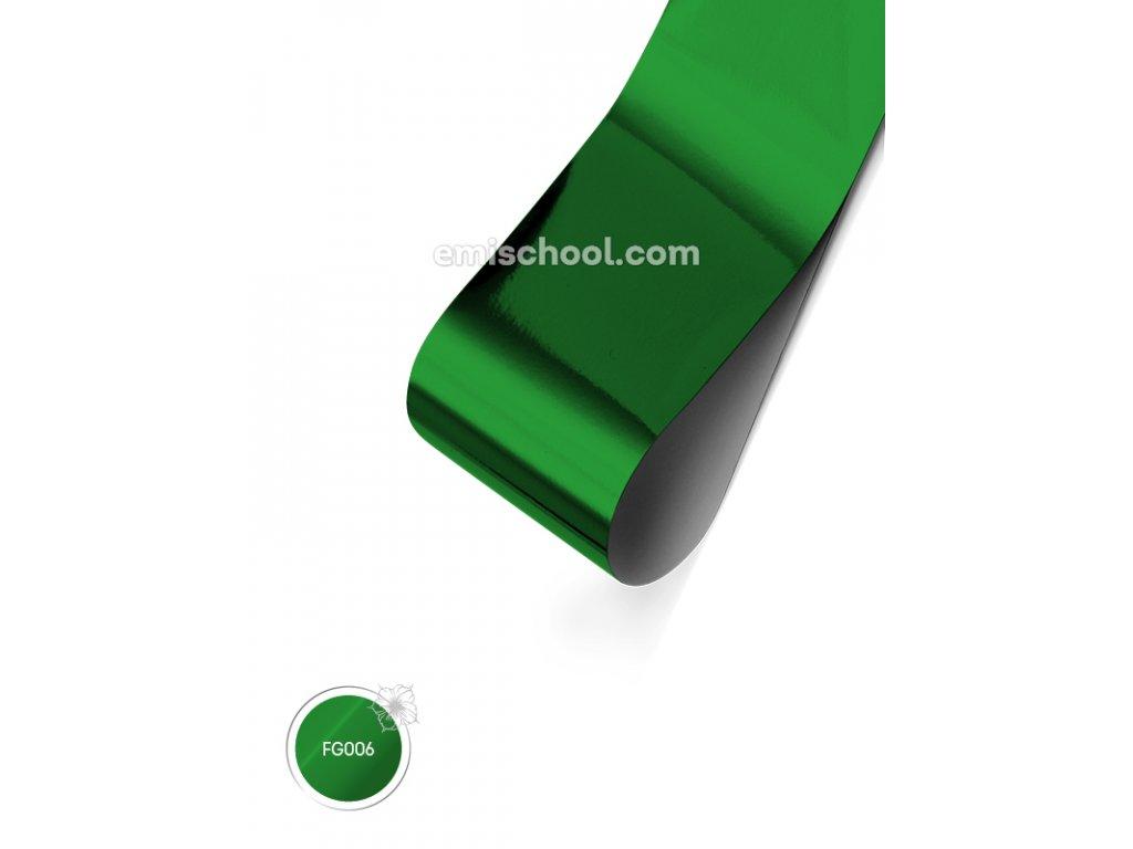 Lesklá fólie Green 1,5 m.