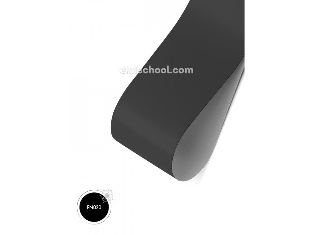 Matná fólie Black 1,5 m.