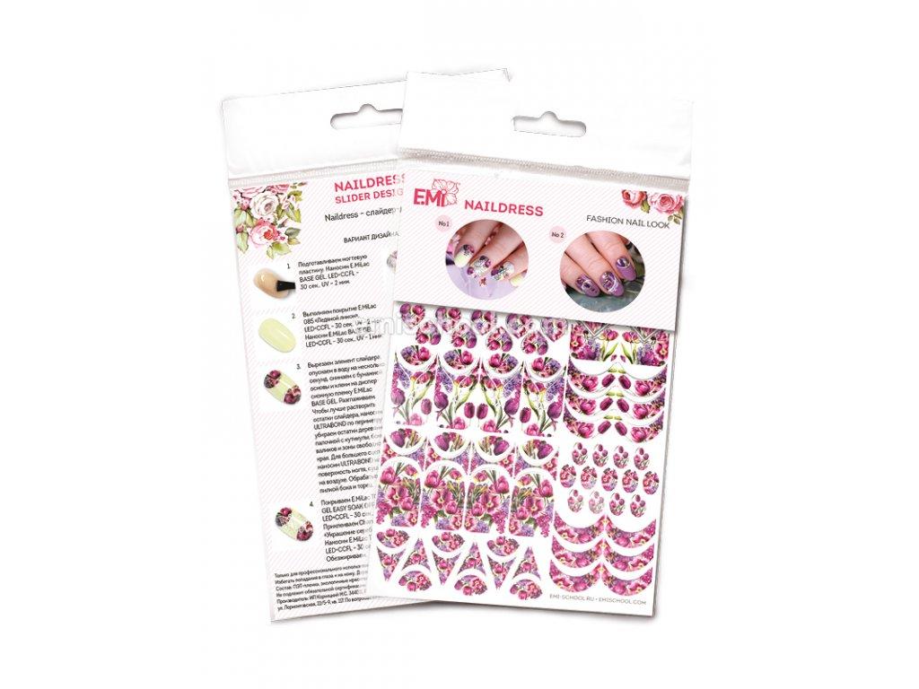Naildress Slider Design Spring Bouquet