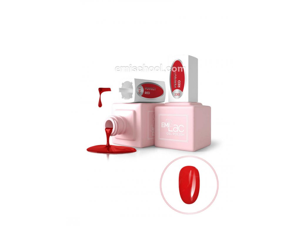 E.MiLac RM Perfect Red №230, 9 ml.