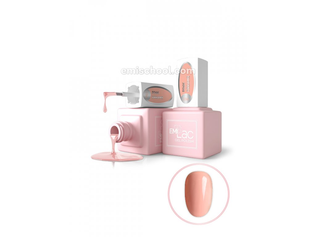 E.MiLac LM Pink Dreams #236, 9 ml.