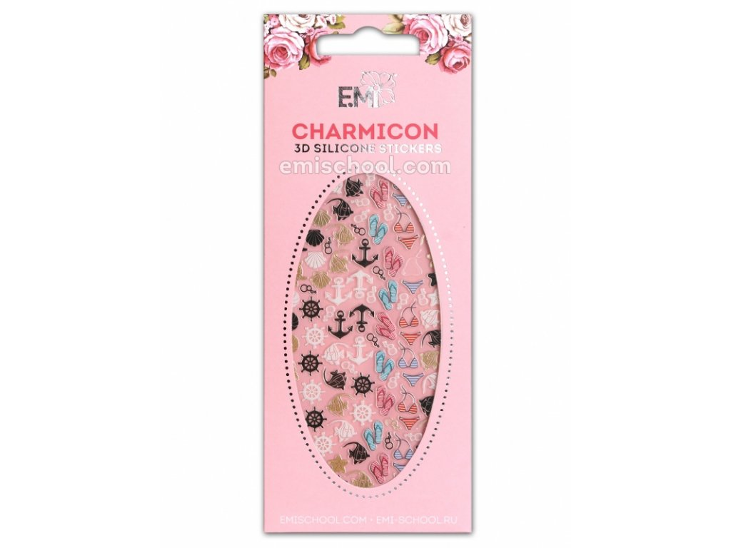 Charmicon 3D Silicone Stickers #83 Cruise