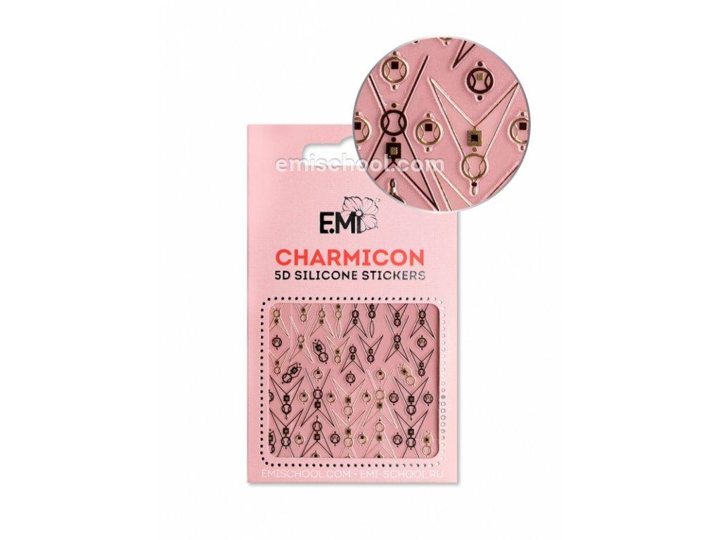 Charmicon 3D Silicone Stickers #96 Lunula