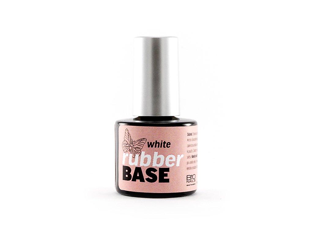 Rubber base white 8ml podkladový gel lak