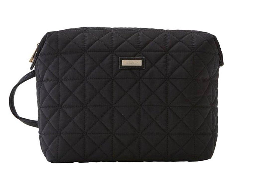 Kosmetická kabelka SPRING černá velká 61380