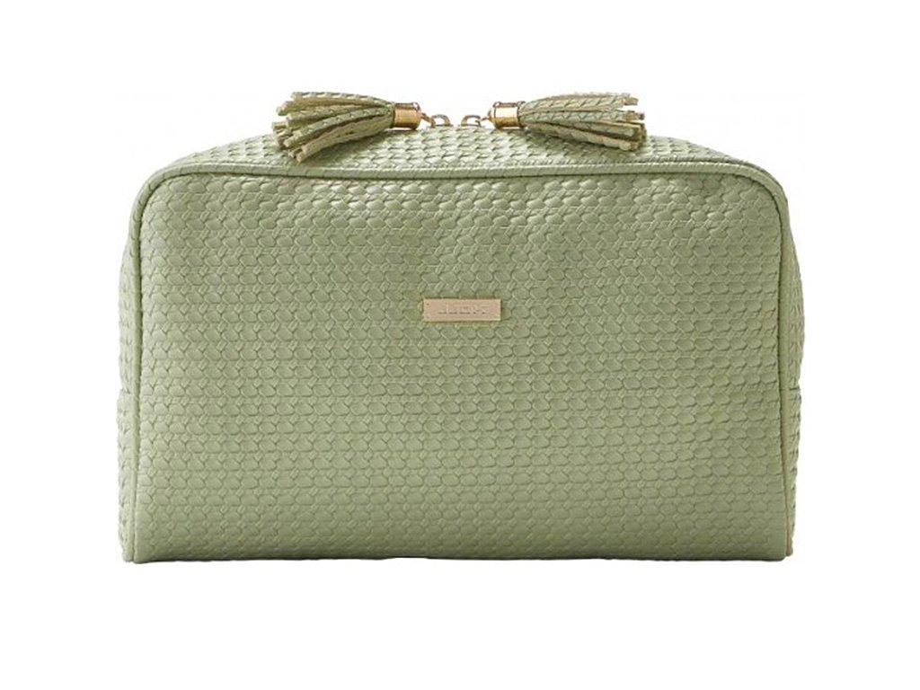 Kosmetická kabelka PALM zelená velká 61363