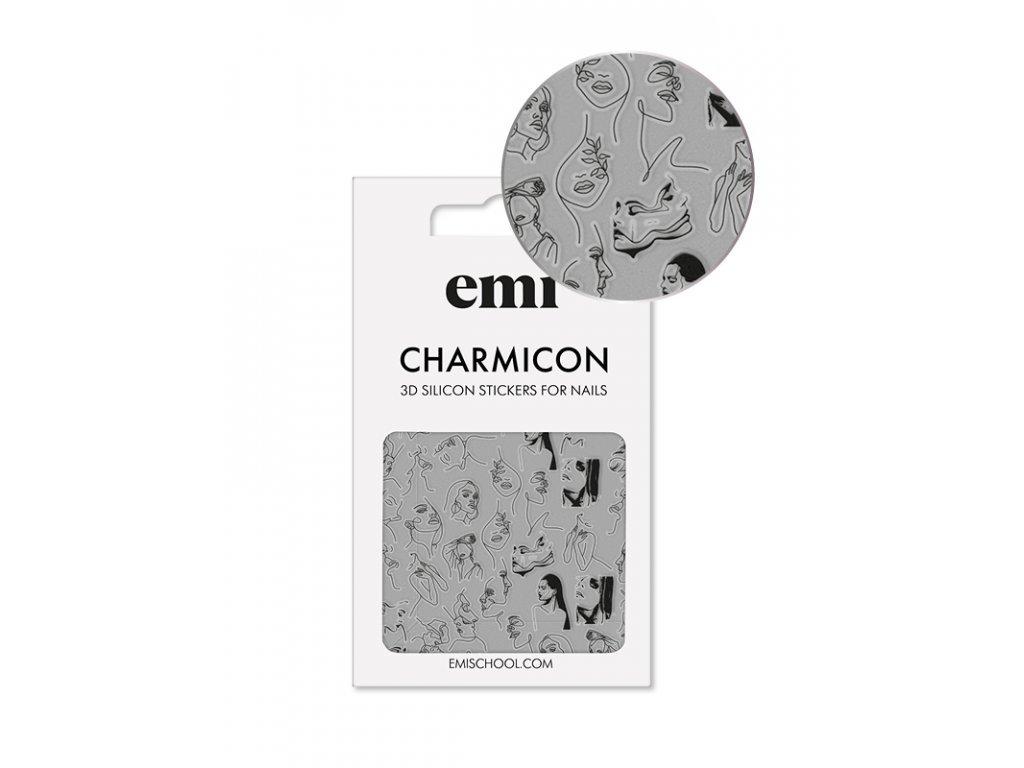 Charmicon 3D Silicone Stickers #172 Sketch