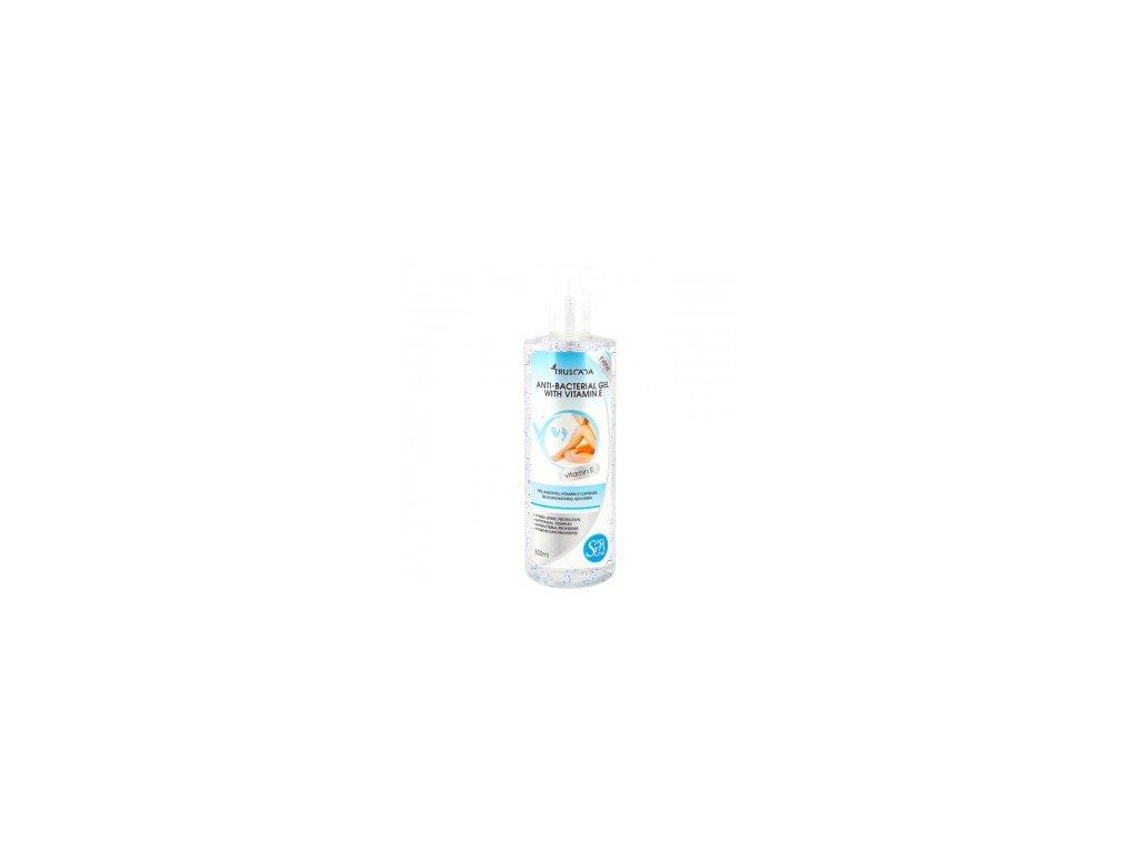 Kosmetický antibakteriální výjimečný gel s vitamínem E 500 ml