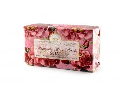 Růže romantická 100% přírodní mýdlo 300 g