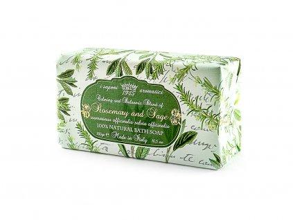 Rozmarýn a šalvěj 100% přírodní mýdlo 300 g