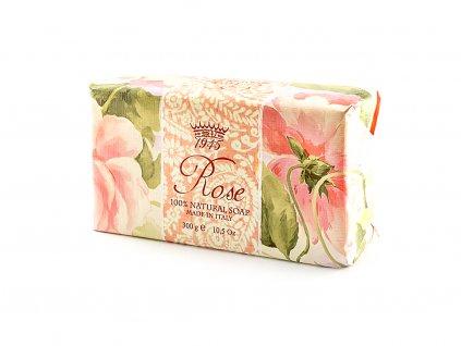 Růže 100% přírodní mýdlo 300 g