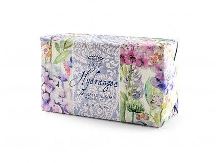 Hortenzie 100% přírodní mýdlo 300 g