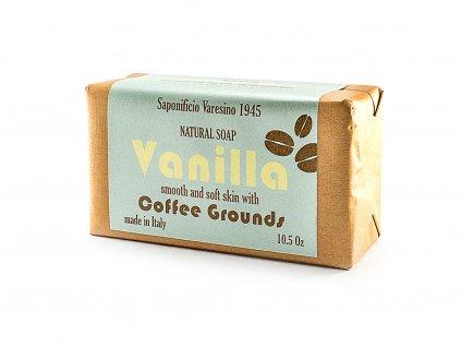 Vanilka s kávou přírodní peelingové mýdlo 300g