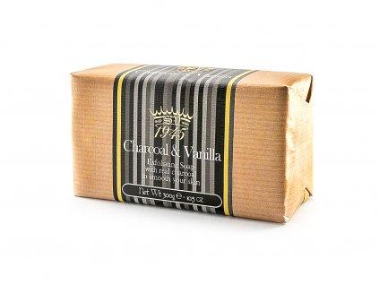 Vanilka černá 100% přírodní peelingové mýdlo 300g
