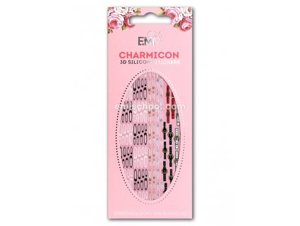 Charmicon 3D Silicone Stickers #63 Belts