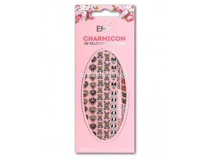 Charmicon 3D Silicone Stickers #61 Icons