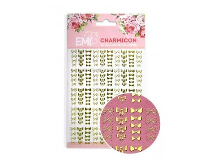 Charmicon 3D Silicone Stickers «Bows»